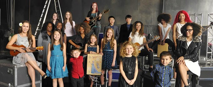 Kohl's Frozen Sing Your Heart Out Contest winners and finalists