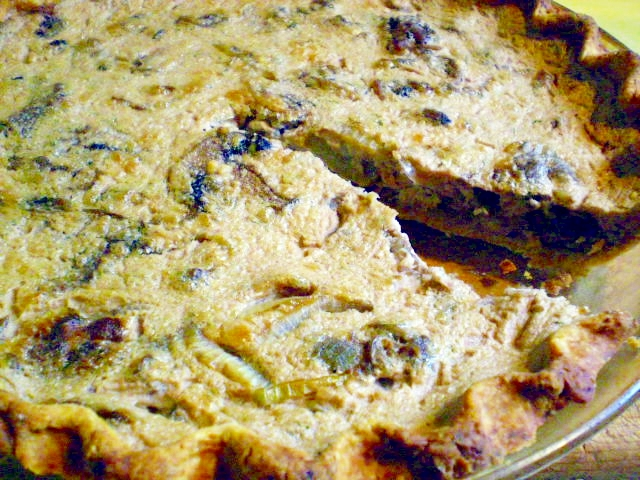 ... Feast Kitchen/ 21st Century Table: VEGAN LENTIL AND MUSHROOM QUICHE