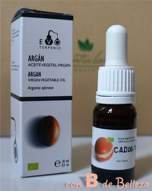 Aceite de argán virgen