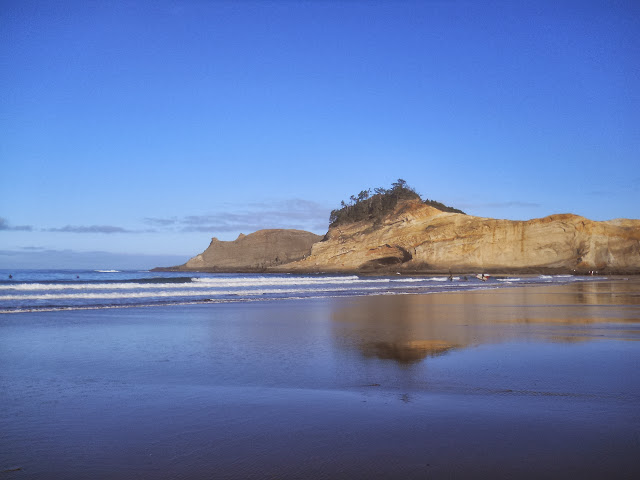 beach at Pacific City OR