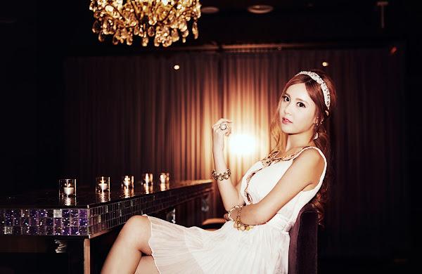 Qri T-ara Gossip Girls Concept