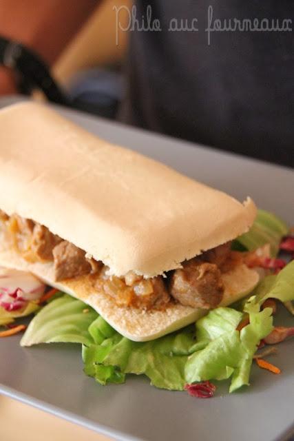 Philo aux fourneaux panini d 39 agneau tandoori - La maison du panini ...