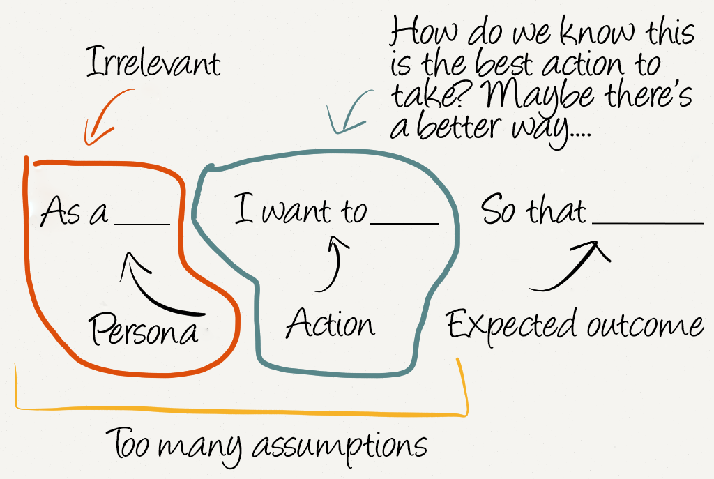 Alan Klement: Replacing The User Story With The Job Story