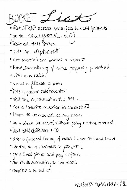 My Bucket List Quotes. QuotesGram