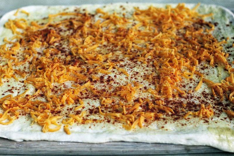 Milk and Honey: Cheesy Mustard Pull-Apart Bread