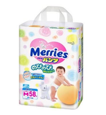 Có nên chọn quần bỉm Merries ?
