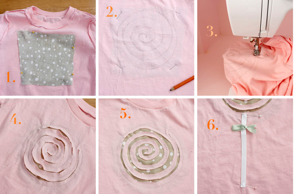 Как декорировать футболку