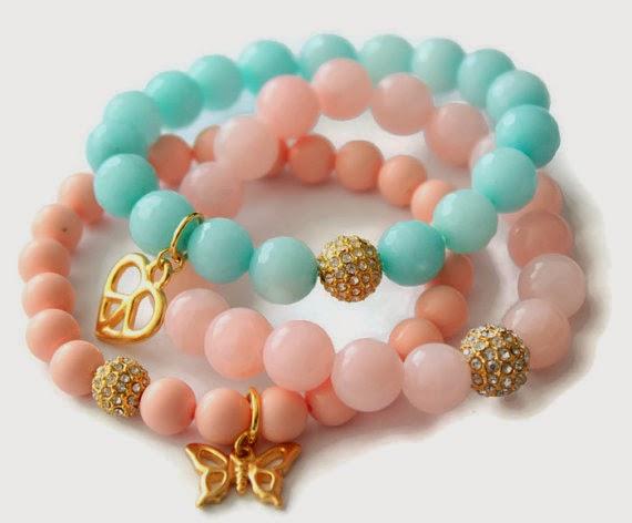 Charm bracelets by Pynk Krush