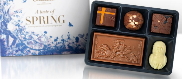Satchel have a happy hotel chocolat easter and you can meet hotel chocolates own beau bunny over easter with free chocolates at store visits negle Gallery
