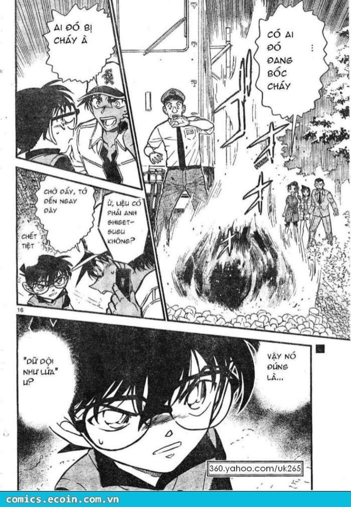 Detective Conan - Thám Tử Lừng Danh Conan chap 616 page 16 - IZTruyenTranh.com