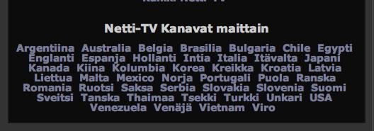 ilmaiset tv kanavat Laitila