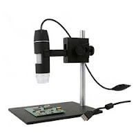 Microscope World digital handheld inspection microscope.