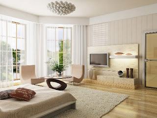 white bedroom window