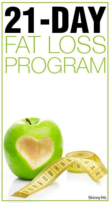 21-Day Fat Loss Program