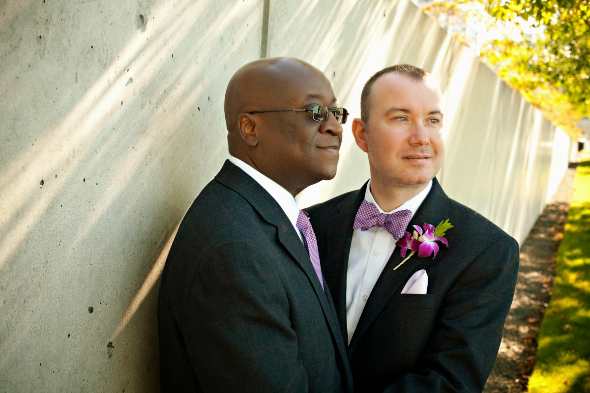 Barry and Robert elope to Seattle - Patricia Stimac, Seattle Wedding Officiant