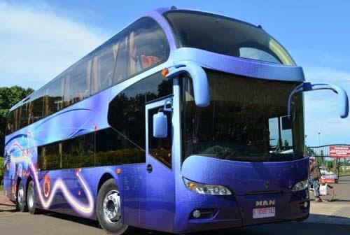 Bus Tingkat Miracle MAN Mewah Buatan Kudus