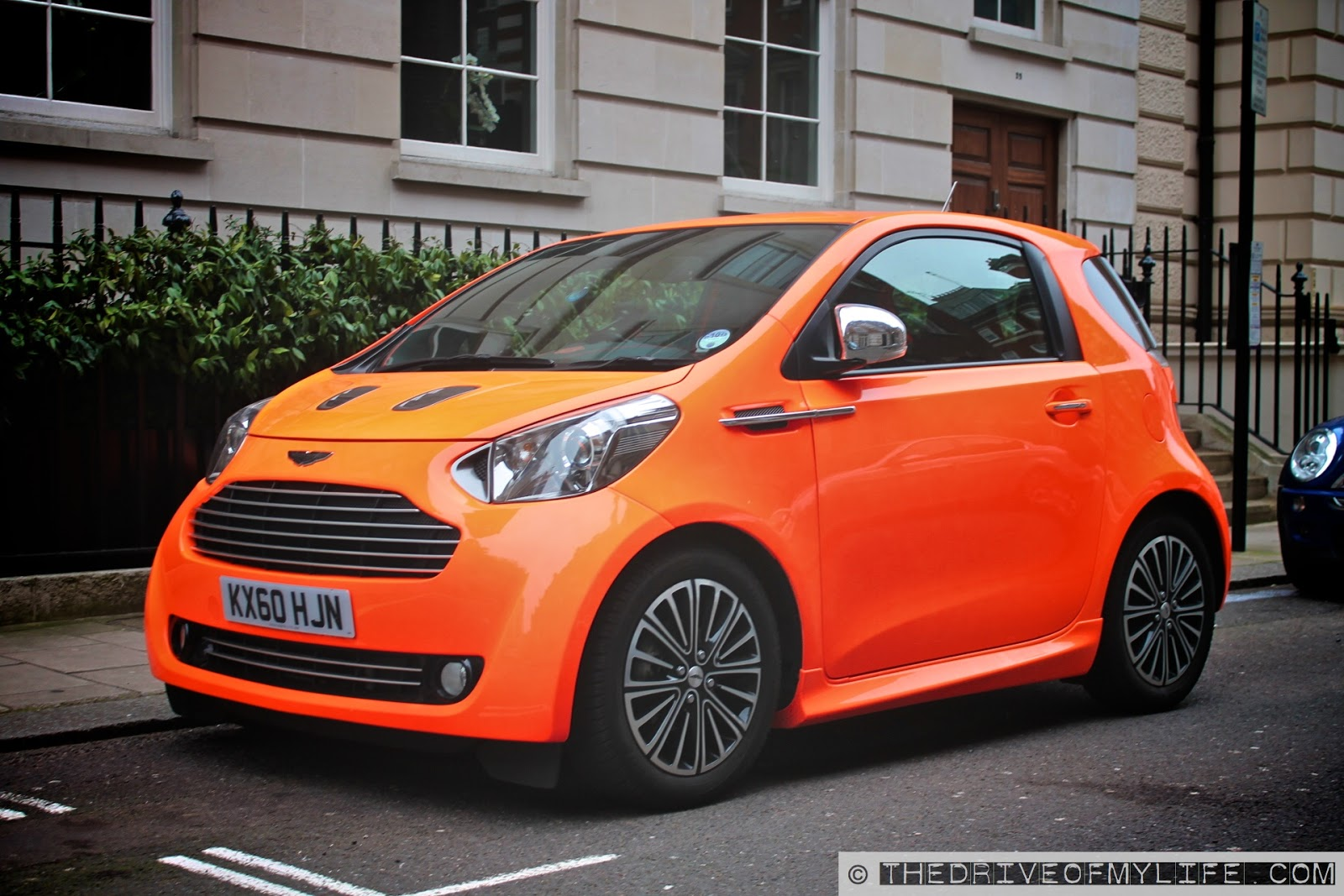 the drive of my life spotted orange aston martin cygnet. Black Bedroom Furniture Sets. Home Design Ideas
