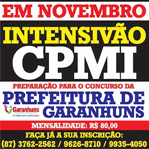SE PREPARE PARA O CONCURSO DA PREFEITURA DE GARANHUNS