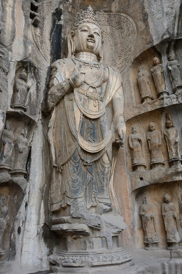 Bodhisattva at Longmen Grottoes