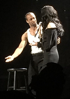 Cher with dancer Jamal Story