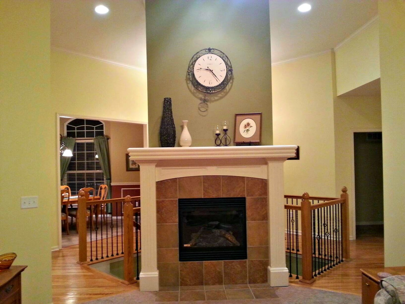 Gardner ks home, gardner fireplace, Gardner real estate