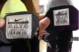 Tips Membedakan Sepatu Asli Ori Dan Palsu Kw
