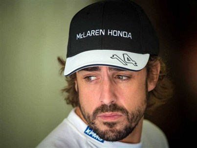 Hungary GP , Alonso said : We could not go back