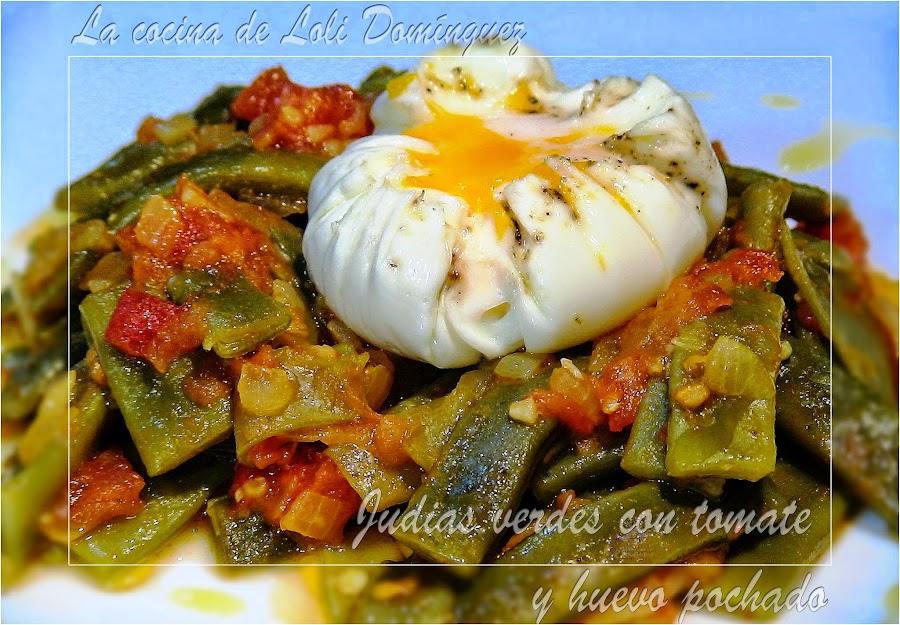 Huevo pochado - Tiempo coccion judias verdes ...