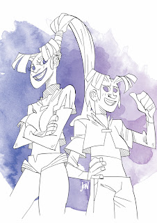 dessinateur illustrateur animateur bande dessinee croquis crayonne illustration animation artist illustrator animator comic book sketch sketches jonathan jon lankry animated the star clan le clan etoile lulutfactory bianca lyhonne ???