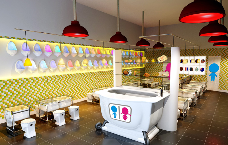 Nautilia viajando raro el restaurante lavabo taiw n hong kong - Moderne toiletfotos ...