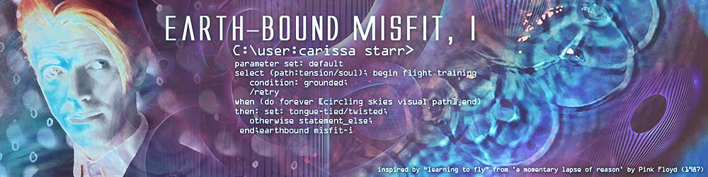 earth-bound misfit, i