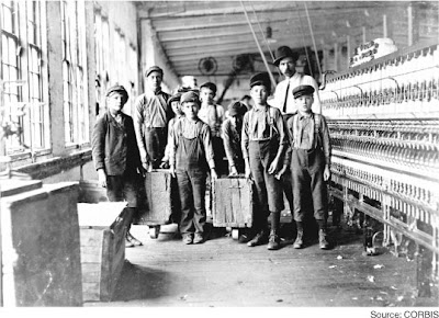 a personal opinion on the child labor act of the 19th century Her personal library of children's books, donated to the university, initiated  america in the nineteenth century it is ironic that while child labor depressed.