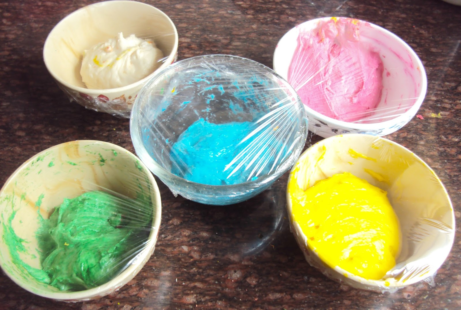 nayana\'s-kitchen-kreations: Rainbow Swirl Classic Bread ( For HBC - 4)