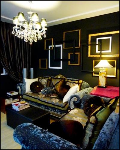 yang ade pertalian@match dengan warna eLemen yang Lain di ruang tamu
