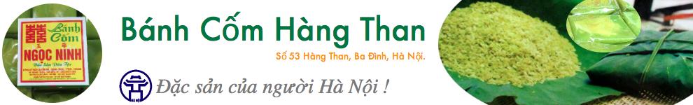 Bánh Cốm Hàng Than Hà Nội - Giá 4500đ/chiếc - Giao Bánh Tận Nơi !
