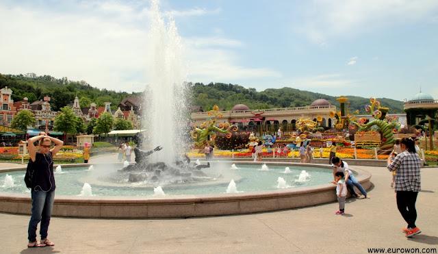 Fuente del Jardín de las Cuatro Estaciones
