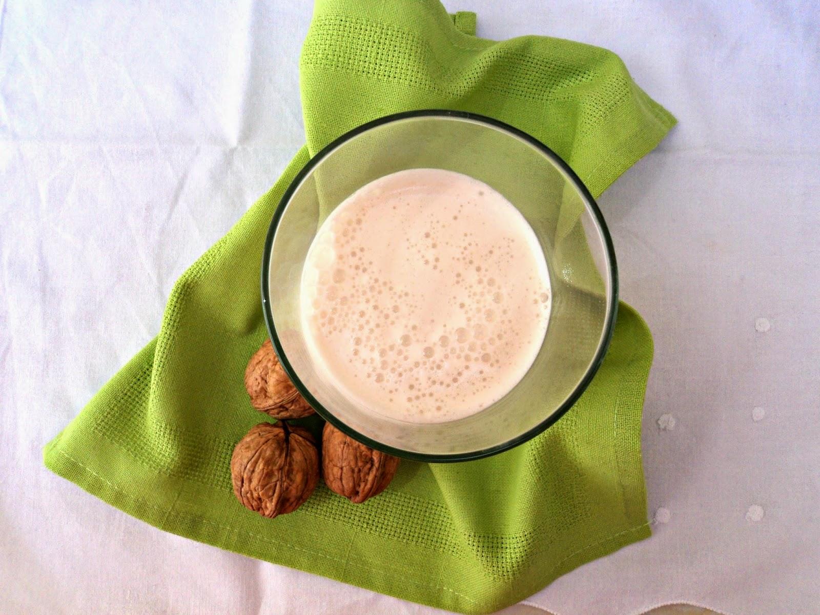 leche nueces aroma especuloos para las recetas fáciles de maría hidratación