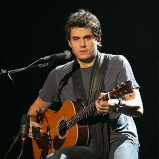 John Mayer On Guitar