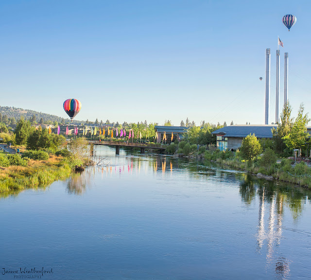 Balloons over bend 2013 old mill district bend oregon central oregon Jaime Weatherford