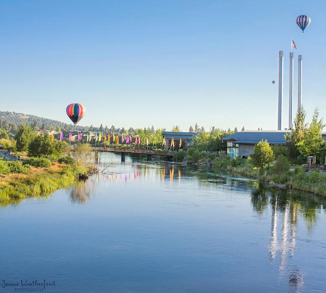 Balloons over bend 2013 old mill district bend oregon central oregon Jaime Weatherford