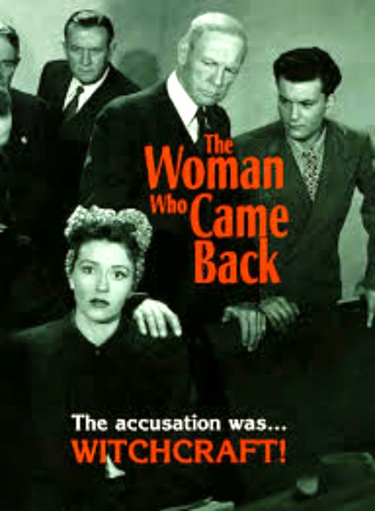 A Vintage Nerd, Classic Film Blog, Old Hollywood Blog, Classic Witch Movies, Vintage Blog, The Woman Who Came Back