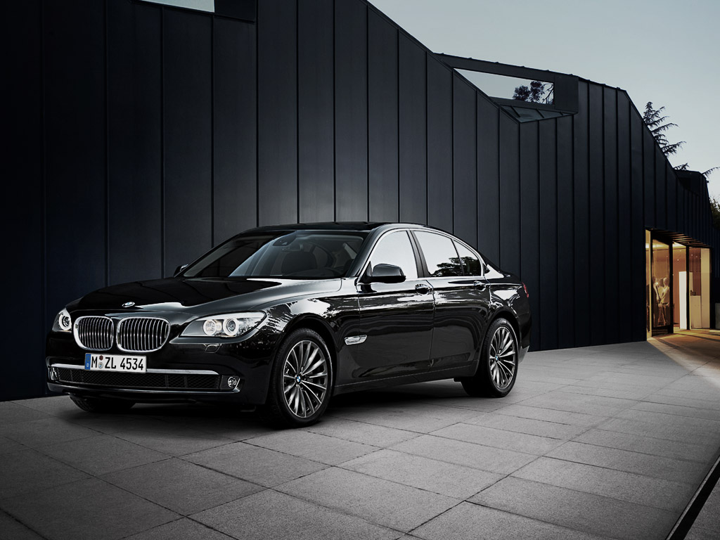 BMW 7 Series Sedan Car Wallpaper