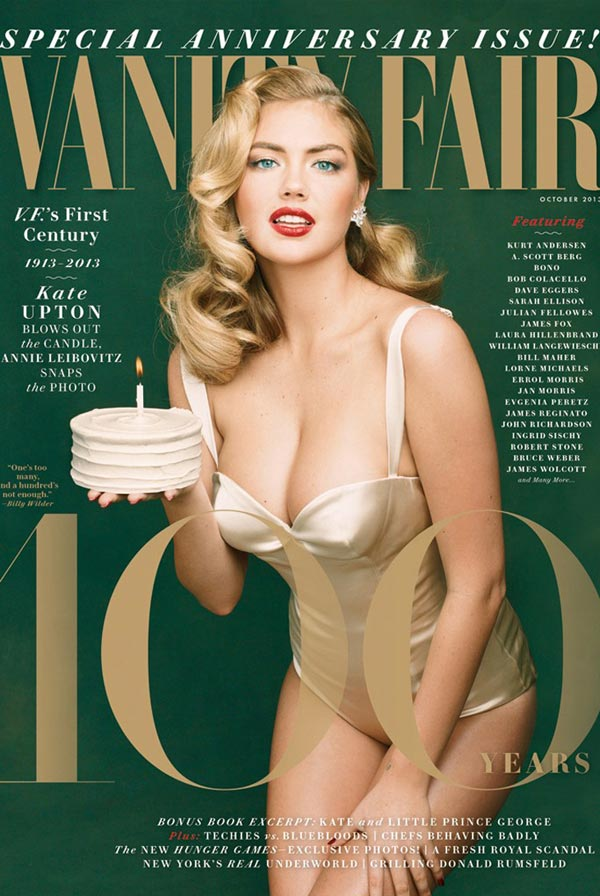 kate upton vanity fair october 2013