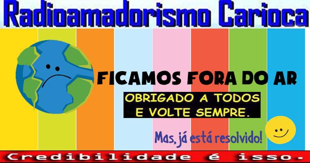 ESTAMOS DE VOLTA AO AR