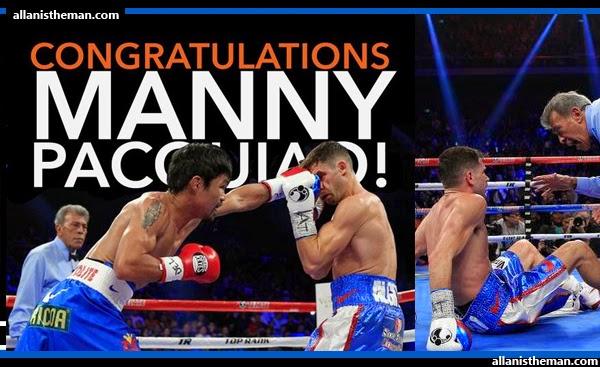 Manny Pacquiao defeats Chris Algieri via unanimous decision; Scores 6 Knockdowns