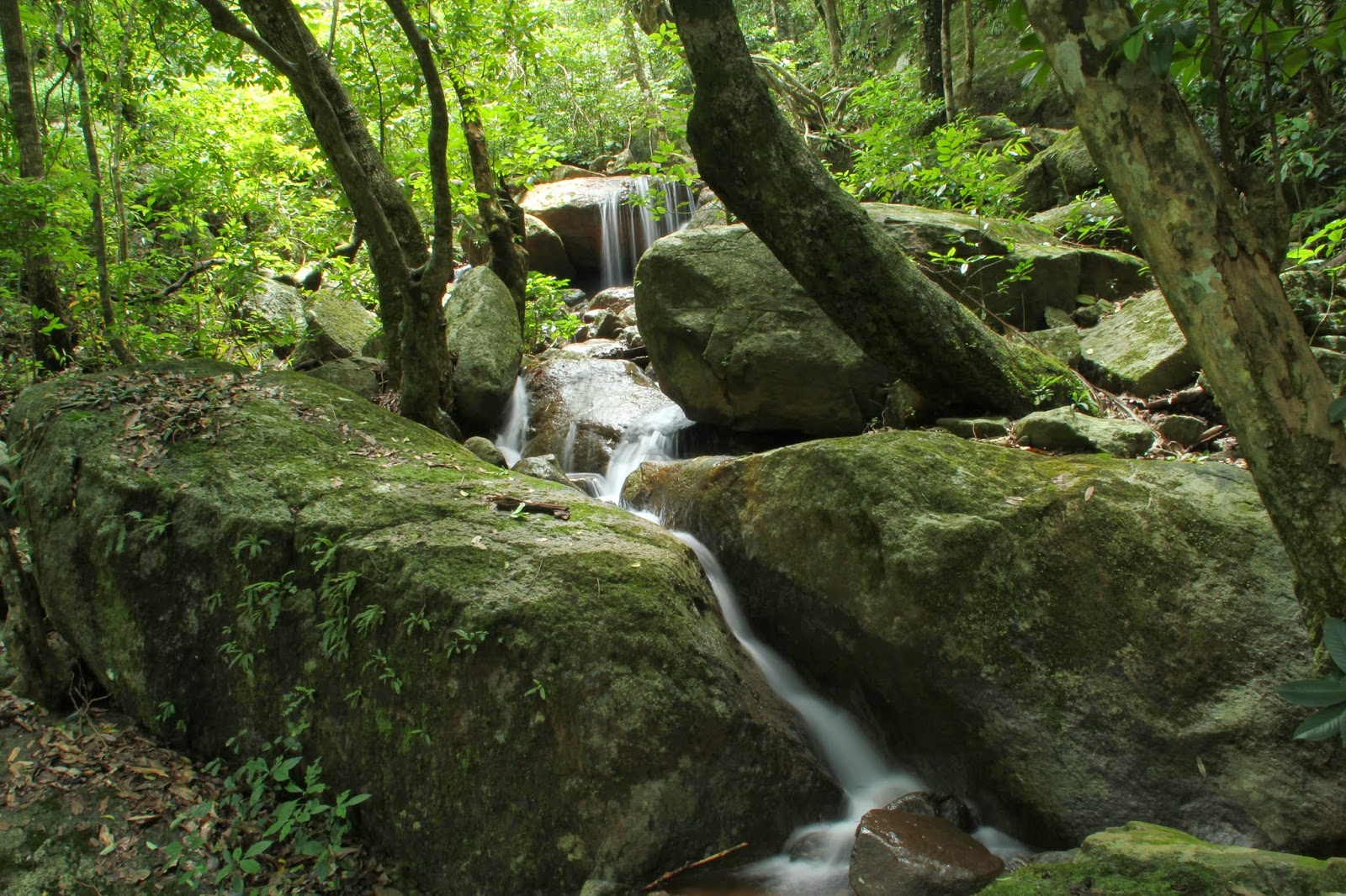 Waterfalls at Mahendragiri