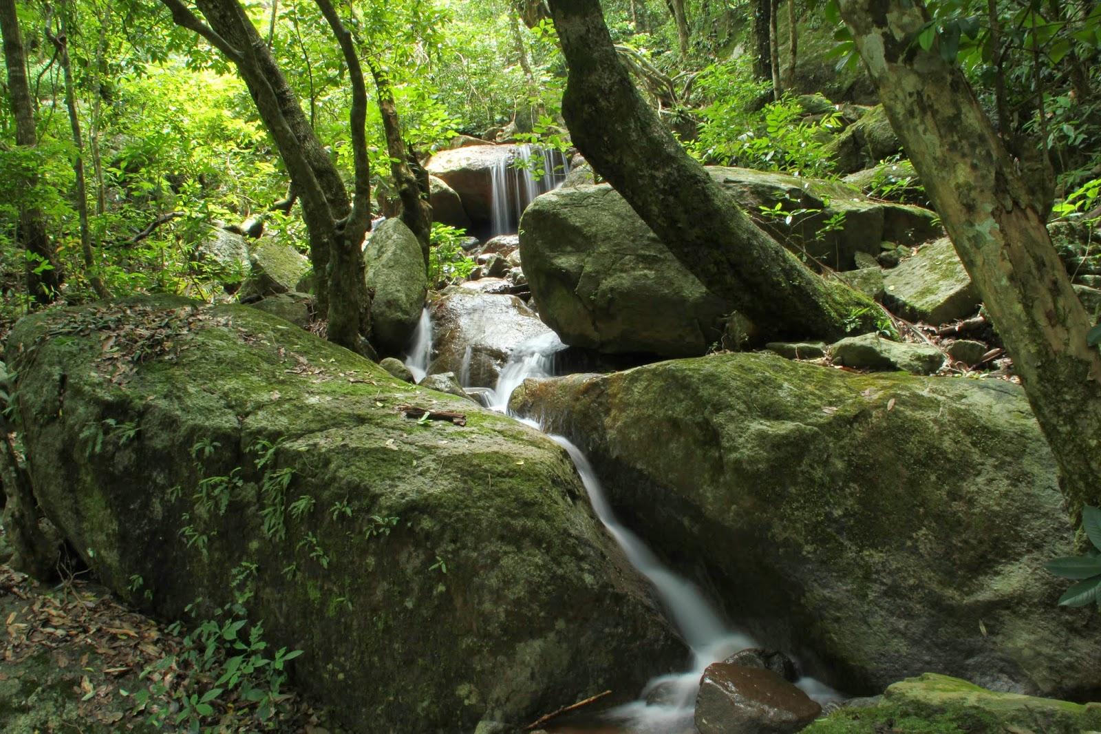 Waterfalls at Mahendragiri