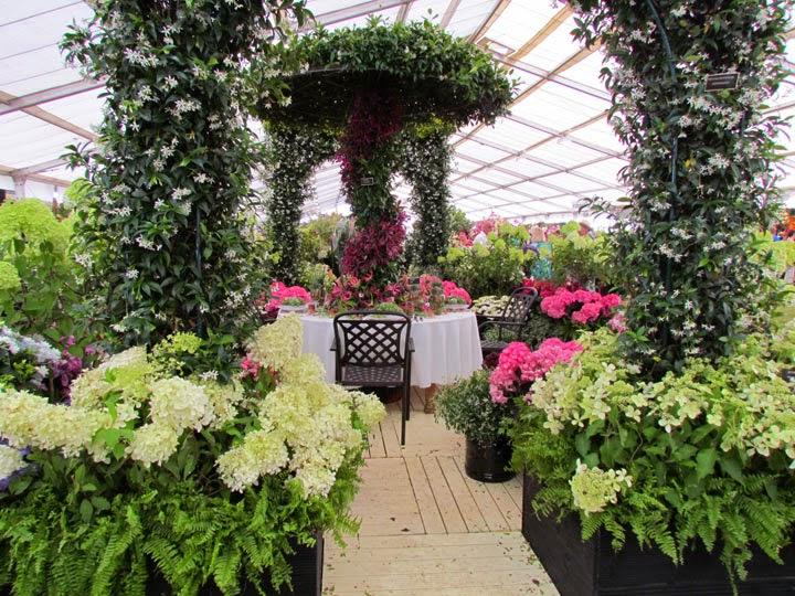 floral pavillion