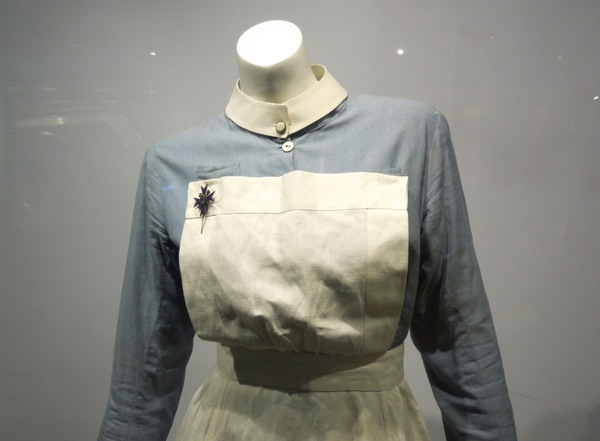 Atonement World War II nurse uniform detail