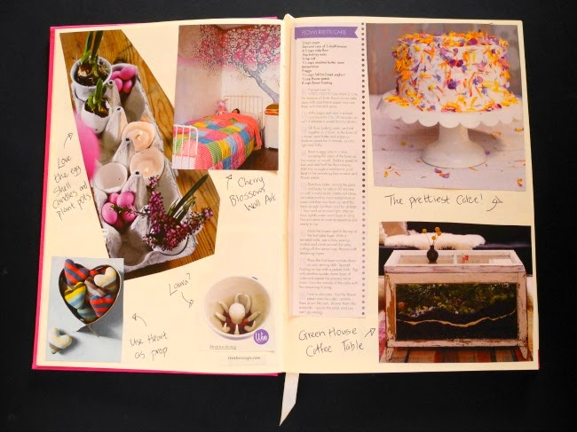 Cutting and Sticking: Magazine Scrapbook